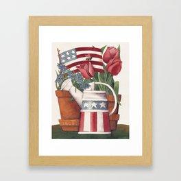 American Summer Framed Art Print