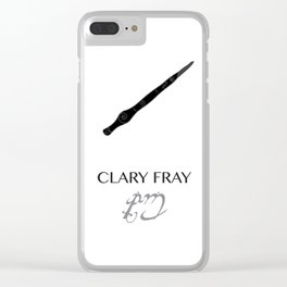 The Mortal Instruments Clary Clear iPhone Case
