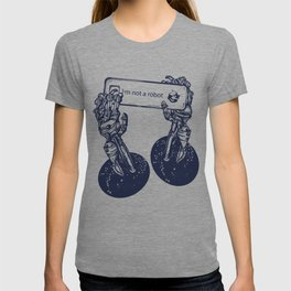 Robot hands T-shirt