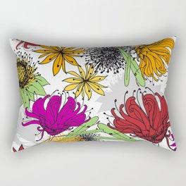 Aussie Floral - by Kara Peters Rectangular Pillow
