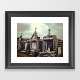 St. Louis Cematary #3 Framed Art Print