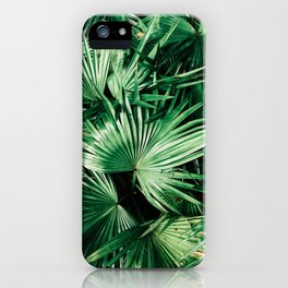 palm patterns iPhone Case
