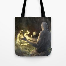 Forge of Worlds Tote Bag