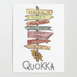 Quokka Poster