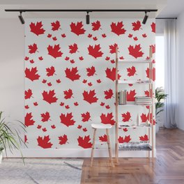 Canada Maple Leaf-Large-White Wall Mural
