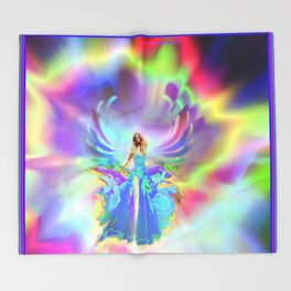 """""""Out of Nova - Uno"""" by surrealpete Throw Blanket"""