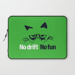 No drift No fun v7 HQvector Laptop Sleeve