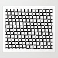 Box Pattern Art Print