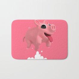Rosa the Pig Jumps Bath Mat