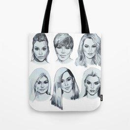 Keeping up 2 (Kardashians) Tote Bag