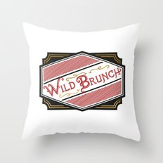 Wild Brunch Throw Pillow