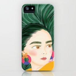 Fantasy hair iPhone Case