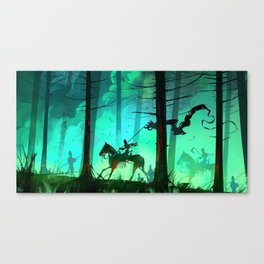 All Zombies Now Canvas Print