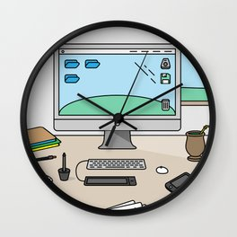 Time to work! Wall Clock