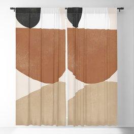 Minimal Abstract Art 41 Blackout Curtain