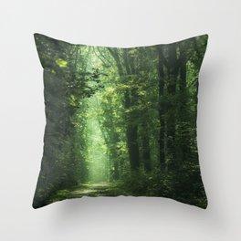 Woodland Glory II Throw Pillow