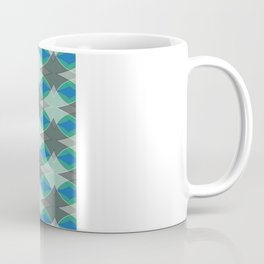 blue diamonds Coffee Mug