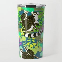 Lemur catta Travel Mug