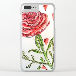 Every Rose Clear iPhone Case