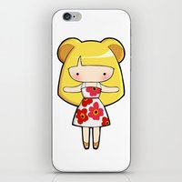 scandinavian iPhone & iPod Skins featuring Scandinavian Hamster by Joanna Zhou