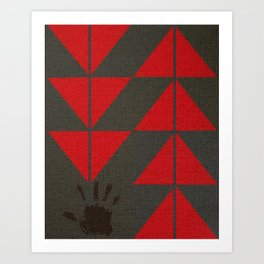 Indigenous Peoples in United States Art Print