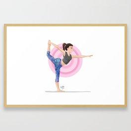 Dancer's Pose Framed Art Print
