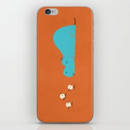 Hungry Hippo iPhone Skin