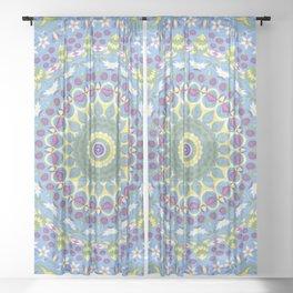 Witcher Mandala  Sheer Curtain