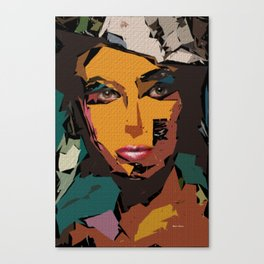 Female Expressions XXI Canvas Print
