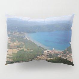 Akyaka and The Bay Of Gokova Photograph Pillow Sham