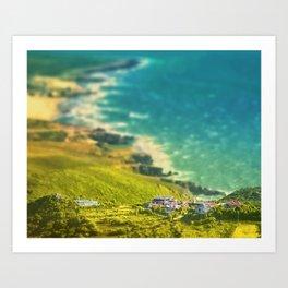 Oceanic vista Art Print