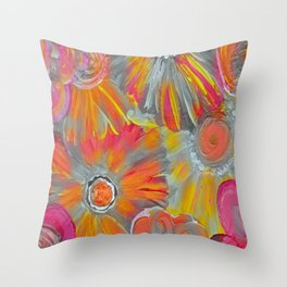 Bright As the Day Throw Pillow