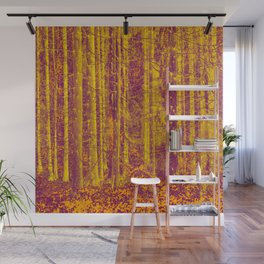In the middle of the forest #decor #society6 #buyart Wall Mural