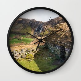 Irish cottage (RR308) Wall Clock