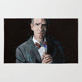 """The Science Guy"" Digital, 2018. Original Digital Watercolor Painting, Bill Nye Rug"