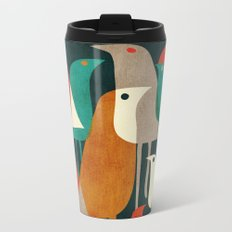 Flock of Birds Metal Travel Mug