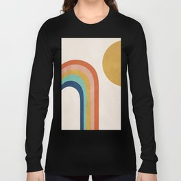 The Sun and a Rainbow Long Sleeve T-shirt