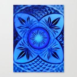 Looking Glass - Indigo Canvas Print