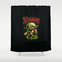 Legend of Zombie Shower Curtain