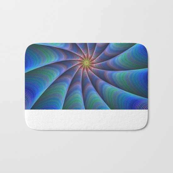 Path to meditation Bath Mat