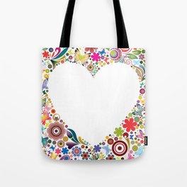 Frame's heart I Tote Bag