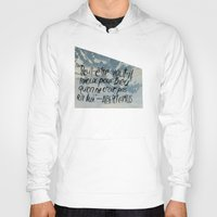 camus Hoodies featuring OH NO CAMUS AGAIN by Josh LaFayette