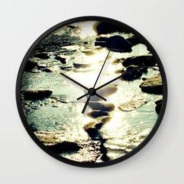 Ithaca Creek Wall Clock