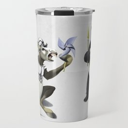 Donkey Xote and Sancho Panda (Wordless) Travel Mug