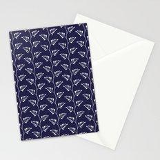 Blue & White Ferns Stationery Cards