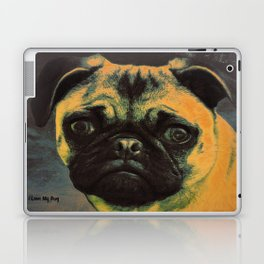 I LOVE MY PUG Laptop & iPad Skin