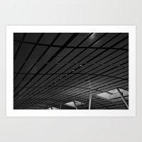 Airport Waves Art Print