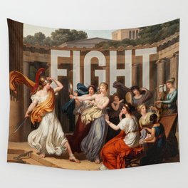 Fight. Wall Tapestry