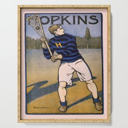 Vintage poster - Lacrosse Serving Tray