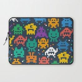 Pixelated monster pattern Laptop Sleeve